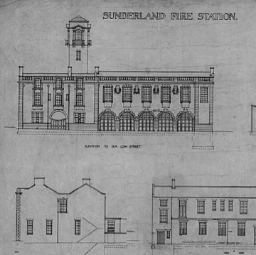 Fire Station Drawing