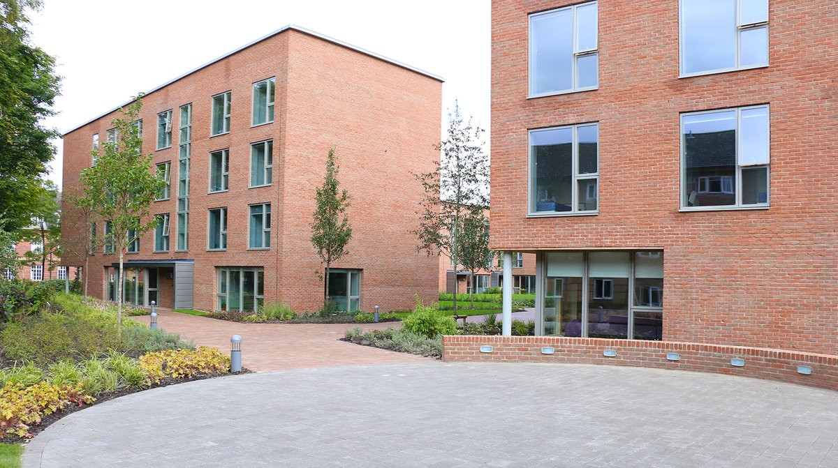Woodlands Court External View 1